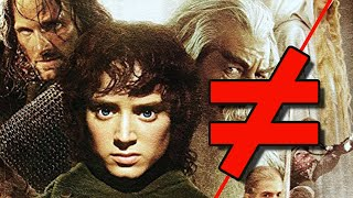 Lord of the Rings: The Fellowship of the Ring - What's the Difference?