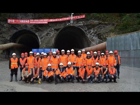 China completes longest railway tunnel in Georgia