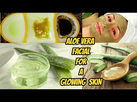 HOW TO DO ALOE VERA FACIAL AT HOME EASILY FOR A GLOWING SKIN