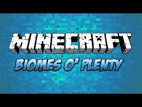 Minecraft Tutorial How To Enable Biomes O' Plenty Biome Generation On A Multiplayer Server