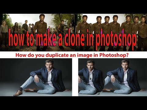 how to make a clone in photoshop cs6 - photoshop tools (Hindi Mastermind - Balram Meena)