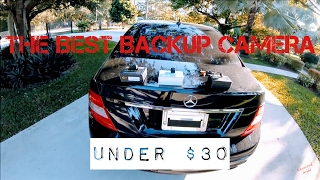Best $30 Backup Camera of 2017!