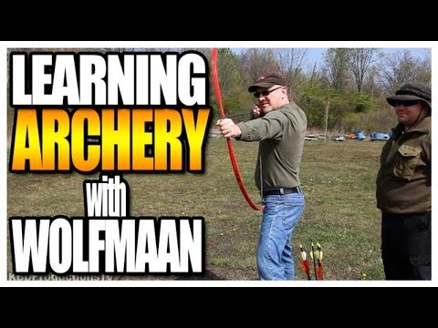 Learning Archery with Wolfmaan