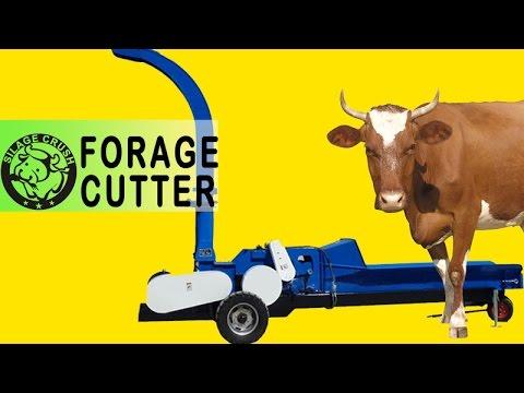 50 t/h forage cutter-FC50 series/Rubbing grass machine/Silage Chopper