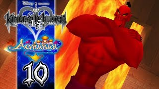 Kingdom Hearts 1.5 HD ReMIX (English) Walkthrough - KH Final Mix Proud Mode Part 10: Agrabah | Genie Jafar Boss Battle PS3 Let