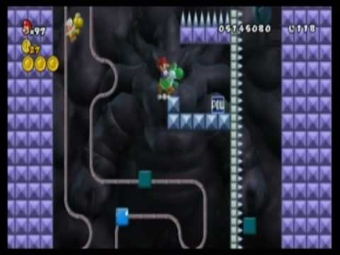 New Super Mario Bros Wii custom level - Odrůda Valley