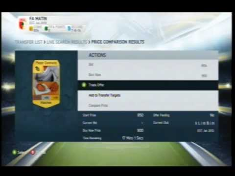 Fifa 14- How To Never Buy A Contract Again!