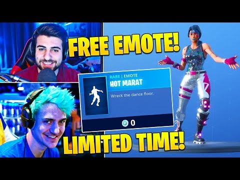 Xxx Mp4 Streamers React To FREE EMOTE Quot HOT MARAT Quot LIMITED TIME ONLY Fortnite FUNNY Twitch Moments 3gp Sex