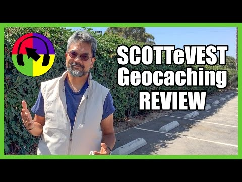 SCOTTeVEST Tropiformer Review for Geocaching
