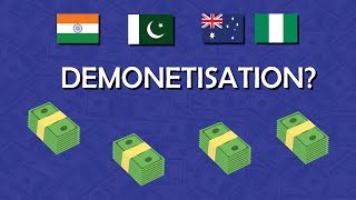Why do countries demonetise their currencies?