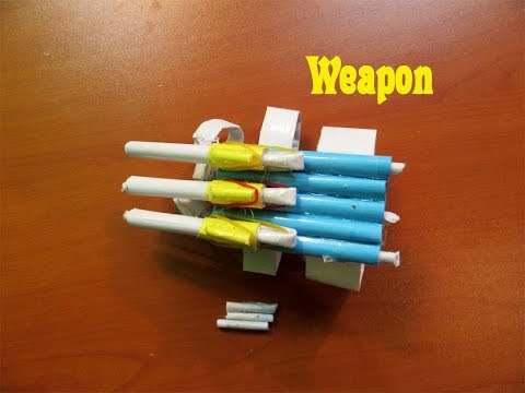 How to Make a Paper  Assassins Creed (Shooting Weapon)- Easy Tutorials
