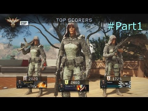 Call of duty BO3 BETA Gameplay - Going off #Part 1