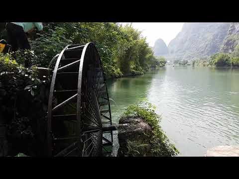Yangshuo water wheel