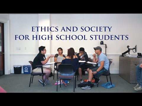 Houston high school students explore ethical questions at Rice
