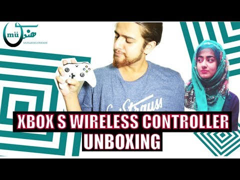Xbox One S Controller White Wireless UNBOXING !! Pakistan || Daraz.pk ||