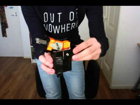 FIRST VIDEO! FIRST NERF HOLSTER PREVIEW!