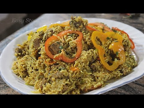 Beef Biryani in Pressure Cooker | Quick & Easy Beef Biryani Recipe