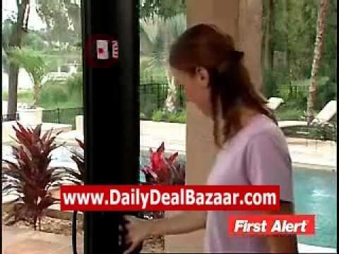 Wireless Sensor Window Door Entry Burglar Alarm Bell