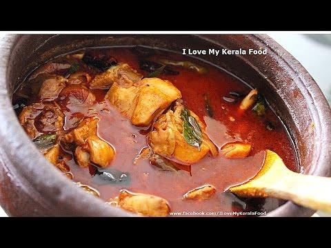 Spicy Kerala Chicken Curry (നാടൻ രീതി)- chinnuz' I Love My Kerala Food