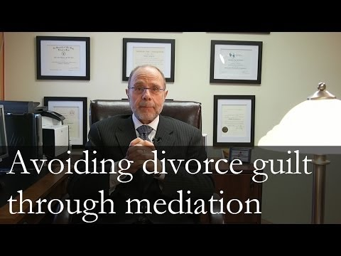 Avoiding Divorce Guilt with Mediation