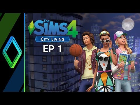 The Sims 4 City Living Let's Play - Part 1