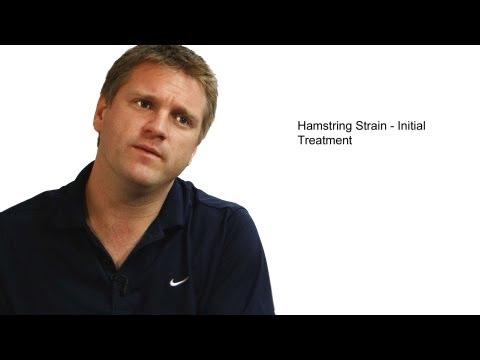 Hamstring Strain Initial Treatment