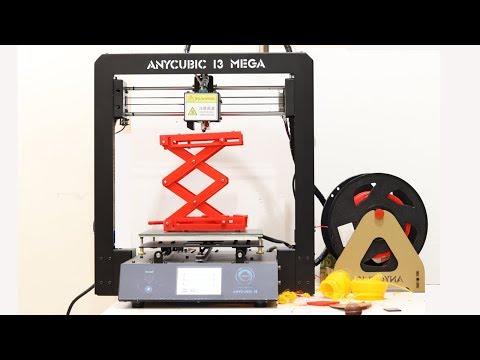 Best 3D Printer Under $400 - 100+ Hours Print - Anycubic i3 Mega