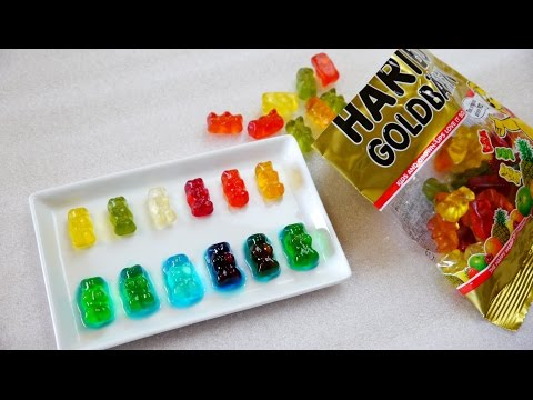 HARIBO Drunken bear gummies よっぱらいくまさんグミ