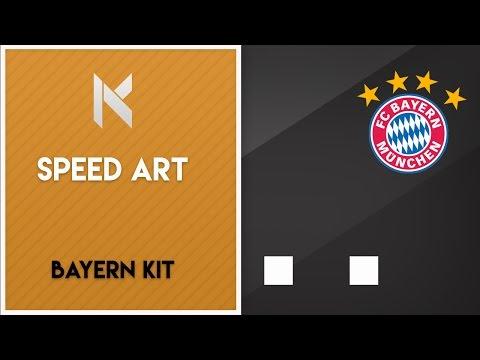 Bayern Munich Football kit/Soccer Jersey Wallpaper speed art