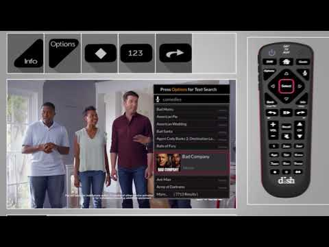 How to Search for Movies to Watch Using the DISH Voice Remote