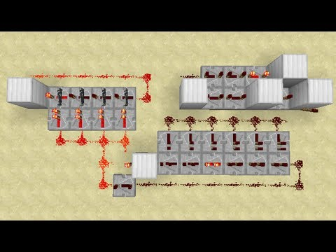 Redstone - Compact 1 Minute Clock (Expandable)