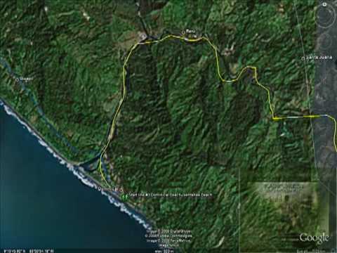 The Coastal Challenge 2009,  Rainforest Run Route Flyover