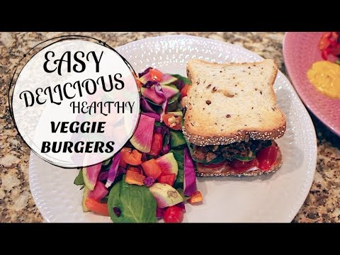 How to make the EASIEST Veggie Burgers Ever!