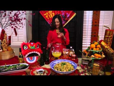 Mandarin Mule Cocktail Recipe - Lunar New Year