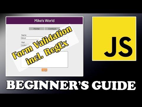 JavaScript Tutorial | Form Validation | Part 3