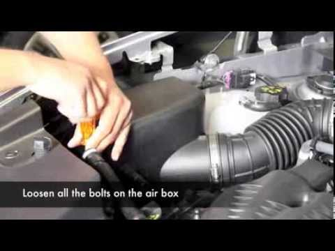 aFe Power 2014 Jeep Cherokee V6-3.2L Stage-2 Air Intake System Install (54-12462)