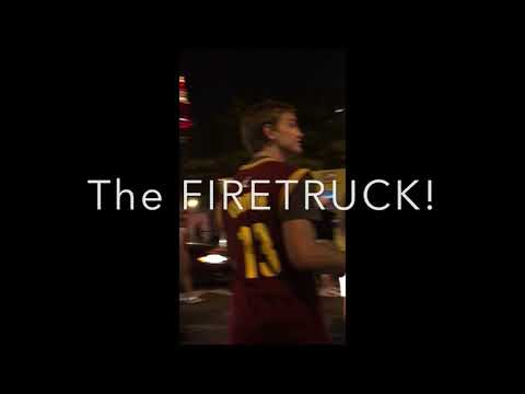 2016 Cavs Chamionship AFTERMATH!!! (Police, Helicopters, Bikes & Fans!)