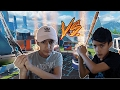 Black Ops 3 DLC Weapon 1v1 Against Little Brother Extreme Rage