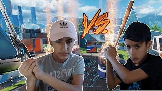 Black Ops 3 DLC Weapon 1v1 Against Little Brother! (Extreme Rage)