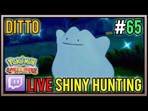 [Live] Shiny Ditto at 205 DexNav Encounters | Live Shiny Hunt #65 | Pokemon Omega Ruby