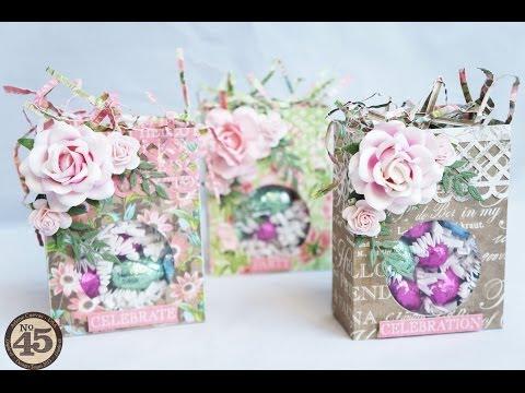 Botanical Tea: Easter Treat Bag Tutorial
