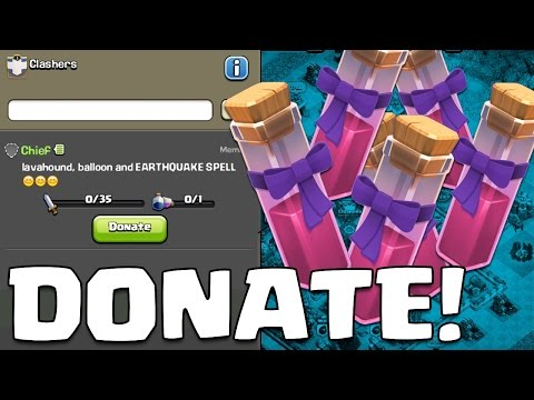 DONATE SPELLS! Clash of Clans New Town Hall 11 Update Sneak Peek #5