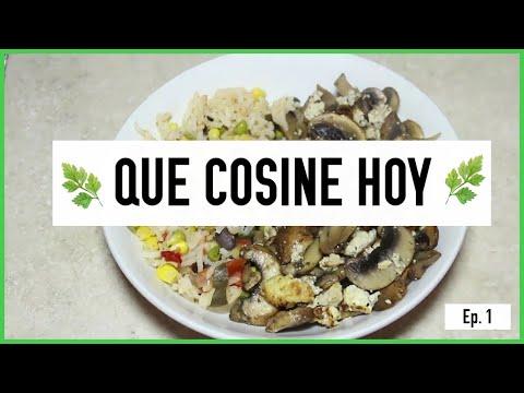 QUE COCINE HOY EP.1 CHAMPIÑONES