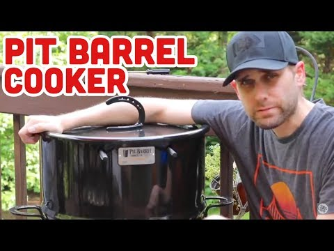 Pit Barrel Cooker | PBC Unboxing & Set-up
