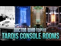 Doctor Who Top 10: TARDIS Console Rooms