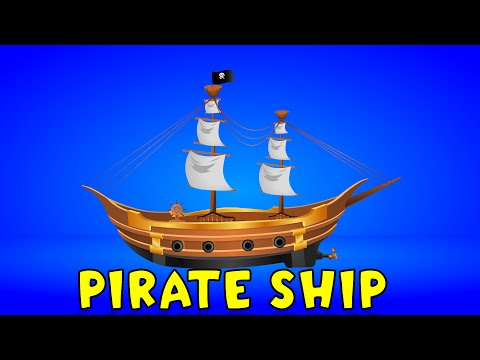 Pirate Ship | Videos For Kids | Kids Games | Videos For Children | Construction Game