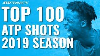 TOP 100 SHOTS & RALLIES: 2019 ATP Season