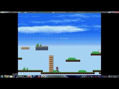 game maker platform sidescroller template