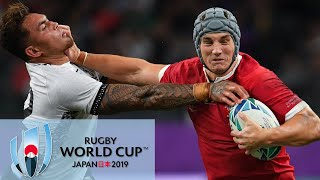 Rugby World Cup 2019 Wales Vs Fiji EXTENDED HIGHLIGHTS 10919 NBC Sports