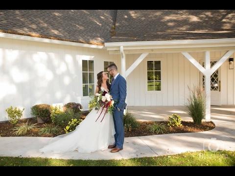 You won't believe this white barn wedding venue! Joanna + Mitch's Spain Ranch Wedding Film in Tulsa,